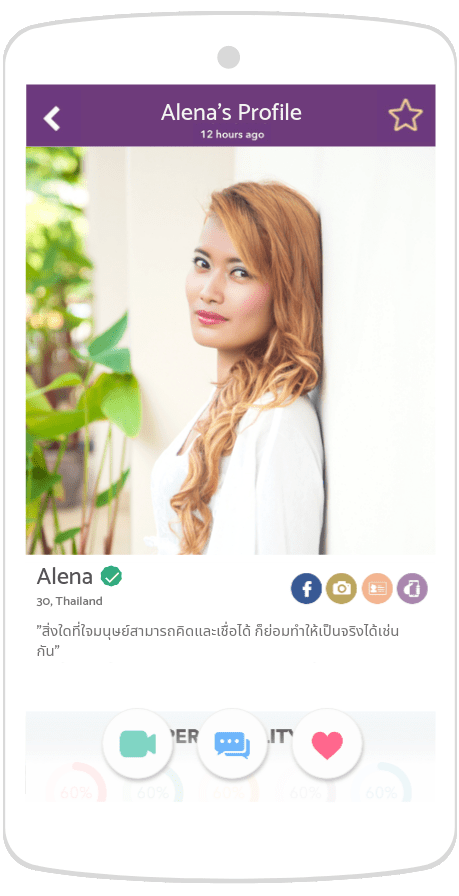 a female thai single