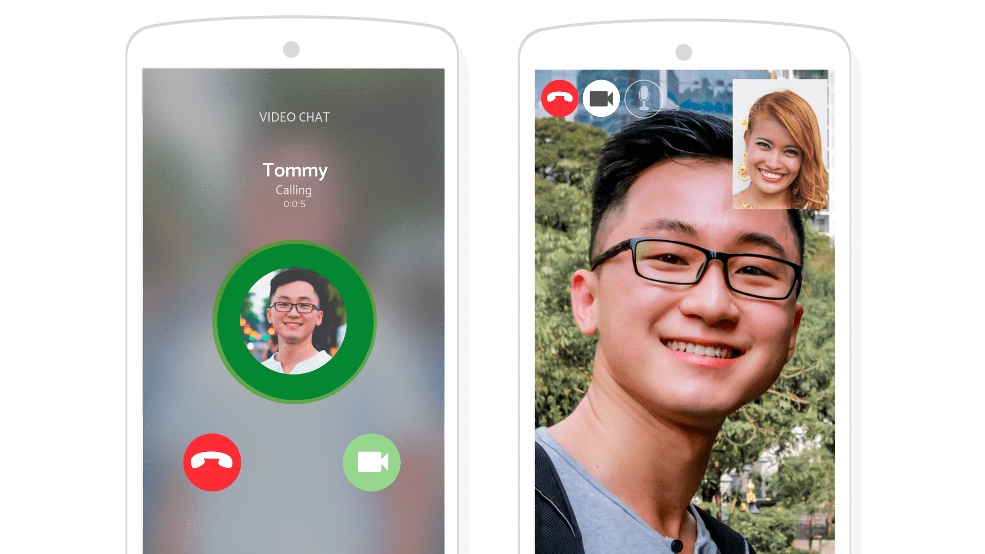 video call feature