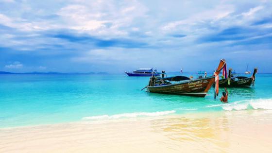 a beach in phuket