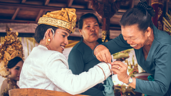 a traditional thai wedding