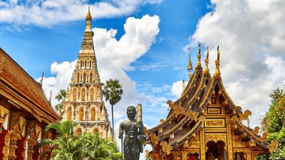 a Thai temple